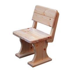 Садовый стул Московия (лак) Стул деревянный [Массив сосны (лак)] (МФДМ)