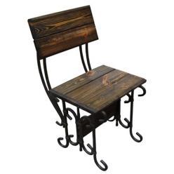 Садовый стул Стул кованый Гнутик (МФДМ)
