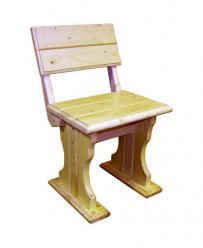 Садовый стул Уют (лак) Стул деревянный [Массив сосны (лак)] (МФДМ)
