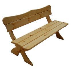 Скамейка Сказка Скамья деревянная со спинкой (МФДМ)