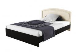 Кровать Кровать Сибирь 1400 [Венге Магия / Выбеленный дуб] (РОСТ)