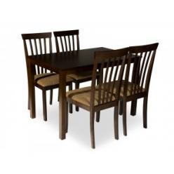 Обеденная группа для кухни, стол ES 2 и 4 стула ES 2003 [ESPRESSO] (Mr. Kim)