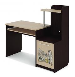 Компьютерный стол Бавария (МСТ Мебель)
