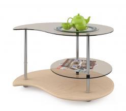 Журнальный столик Капля 1 (МСТ Мебель)