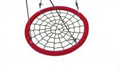 Качели гнездо 110 см красные (Облачный замок)