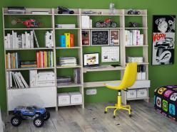 Комплект детской мебели Страйк К5 (ОГОГО Обстановочка!)