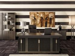 Комплект офисной мебели Чикаго К3 [Темный дуб] (Pointex)