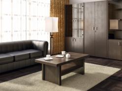 Комплект офисной мебели Чикаго П К2 [Темный дуб] (Pointex)