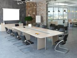 Комплект офисной мебели Комплект Свифт К1 [Светлый дуб] (Pointex)