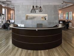 Комплект офисной мебели Зум Темный К1 [Темный дуб] (Pointex)