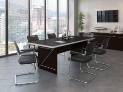 Комплект офисной мебели Зум Темный ПК1 [Темный дуб] (Pointex)