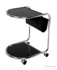Сервировочный столик GC-2233 Роген (Черный)  (Рэд энд Блэк)