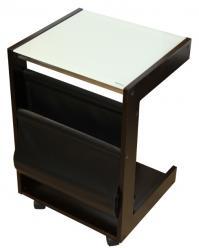 Журнальный столик SR-0649 Грун (темный орех) (Рэд энд Блэк)
