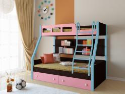 Двухъярусная кровать Рио Венге (РВ Мебель)