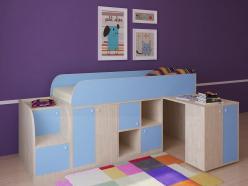 Кровать-чердак Астра мини (РВ Мебель)