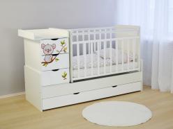 Кроватка СКВ-5 52103x (SKV company)