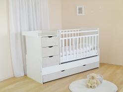 Кроватка СКВ-5 54003x (SKV company)