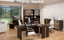 Комплект офисной мебели Борн К1 [Венге Магия] (SKYLAND)