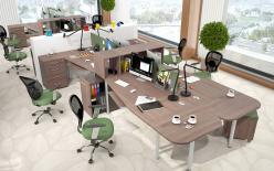 Комплект офисной мебели Икстен М К1 [Дуб Сонома] (SKYLAND)