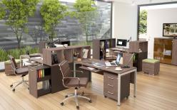 Комплект офисной мебели Икстен М К2 [Дуб сонома / Рено] (SKYLAND)