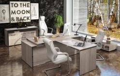 Комплект офисной мебели Тор Каньон К1 [Дуб Каньон] (SKYLAND)