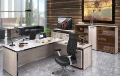 Комплект офисной мебели Тор Каньон К2 [Дуб Каньон] (SKYLAND)