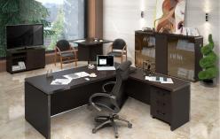 Комплект офисной мебели Тор Венге К1 [Венге Магия] (SKYLAND)