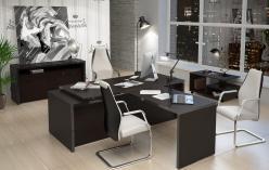 Комплект офисной мебели Тор Венге К2 [Венге Магия] (SKYLAND)