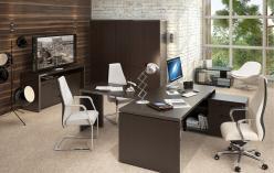 Комплект офисной мебели Тор Венге К3 [Венге Магия] (SKYLAND)