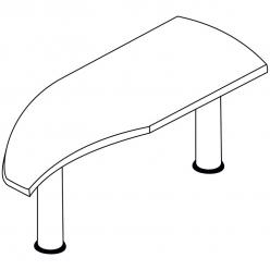 Стол-приставка В300.1 (SKYLAND)