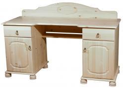Компьютерный стол Стол письменный Айно [Бесцветный лак] (Timberica)