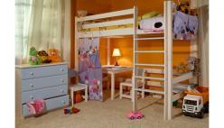 Кровать-чердак Кровать верхнеярусная Классик (Timberica)