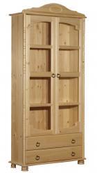Шкаф-витрина Шкаф книжный Айно №1 (Timberica)