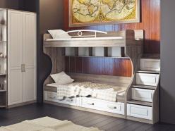 Двухъярусная кровать СМ-223.11.001 (ТриЯ)