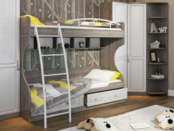 Двухъярусная кровать СМ-223.11.002 (ТриЯ)