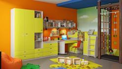 Комплект детской мебели Аватар Лайм К2 (ТриЯ)