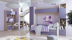 Комплект детской мебели Аватар Лаванда К1 (ТриЯ)