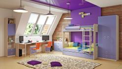 Комплект детской мебели Аватар Лаванда К2 (ТриЯ)