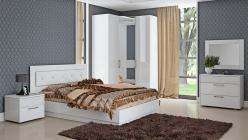 Комплект мебели для спальни Амели К2 (ТриЯ)