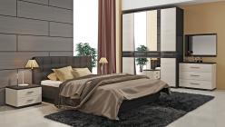 Комплект мебели для спальни Сити Тексит К2 (ТриЯ)