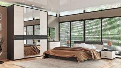 Комплект мебели для спальни Сити Тексит К3 (ТриЯ)
