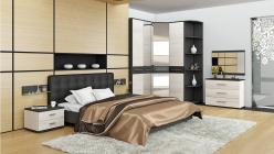 Комплект мебели для спальни Сити Тексит К4 (ТриЯ)