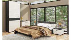 Комплект мебели для спальни Сити Тексит К5 (ТриЯ)