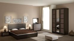Комплект мебели для спальни Токио К10 (ТриЯ)