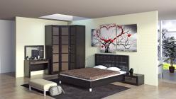 Комплект мебели для спальни Токио К5 (ТриЯ)