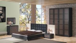 Комплект мебели для спальни Токио К7 (ТриЯ)