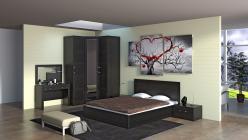 Комплект мебели для спальни Токио К8 (ТриЯ)