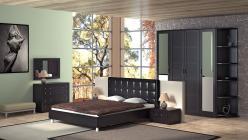 Комплект мебели для спальни Токио К9 (ТриЯ)