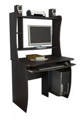 Компьютерный стол Школьник-люкс (М) [Венге Цава] (ТриЯ)