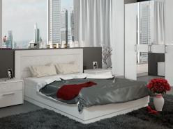 Кровать Амели СМ-193.01.002 с подъемным механизмом (ТриЯ)